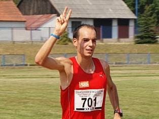 Arek Gardzielewski I miejsce Dobrodzieńska Dycha  2010