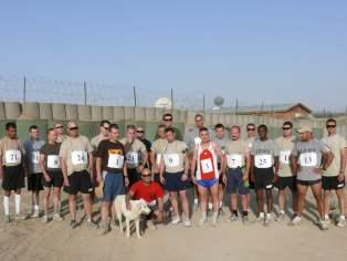 Dobrodzieńska Dycha 2008 - korespondencyjnie w Afganistanie