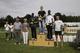 Najlepsi w biegu VII Dobrodzieńska Dycha 2012,1.Marcin Błaziński, WKB META Lubliniec, 2. Ben Cheboi, Kenia,3.Joel Kitur, Kenia ; foto Józef Włodarz.jpeg